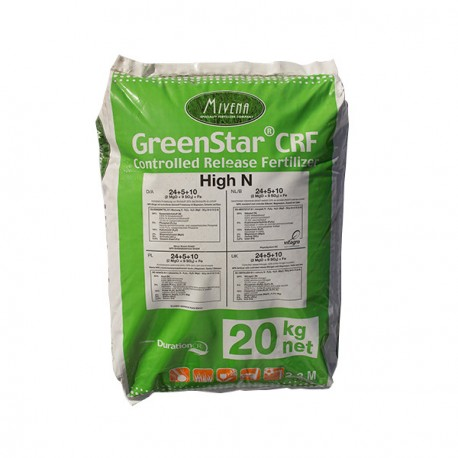 Greenstar CRF 20kg NPK 24+5+10+2MG0+9SO3+Fe