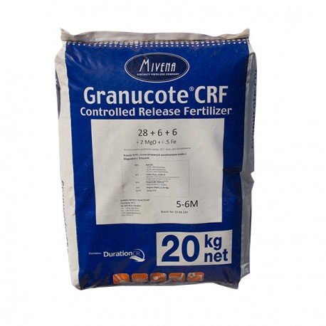 Granucote CRF 20 kg NPK 28+6+6+2Mg0+0,5Fe